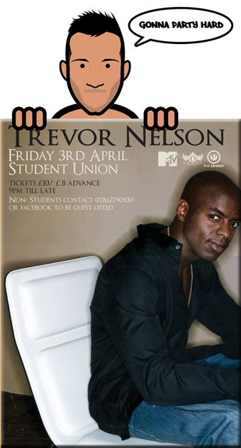 Trevor Nelson @ Portsmouth Student Union This Friday