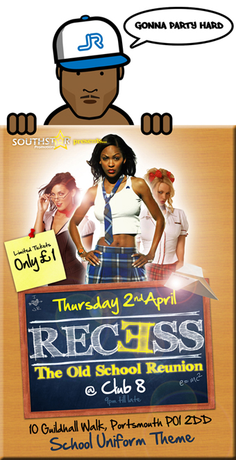 Recess @ Club 8, This Thursday