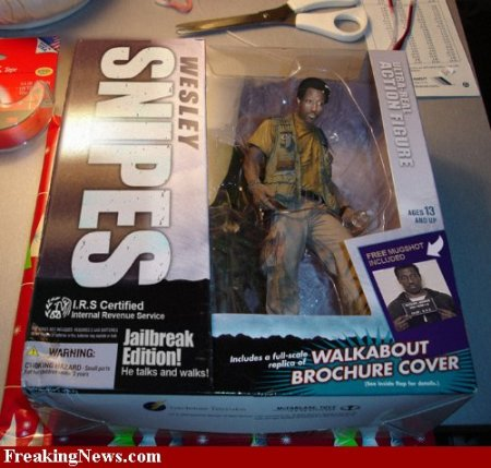 The jail break Wesley Snipes action figure! Limited edition.